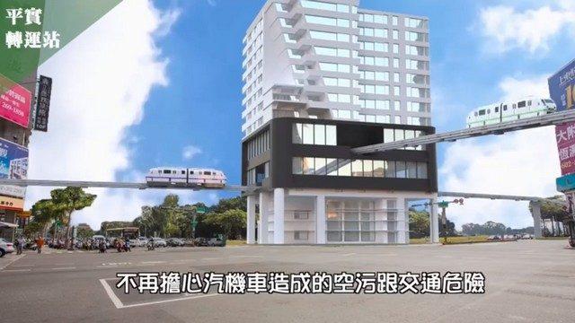 台南輕軌未來模擬影片釋出|台南建商連建建設